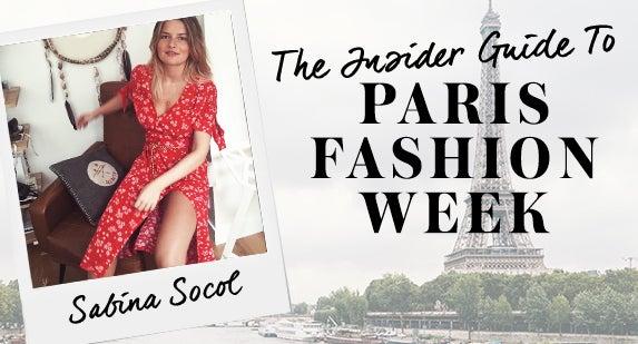 Insider Guide To PFW: Sabina Socol