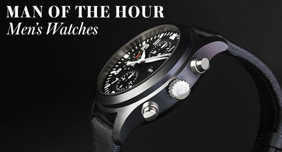 Man Of The Hour: Men's Watches
