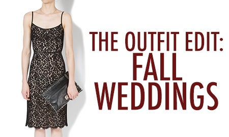 The Outfit Edit: Fall Weddings