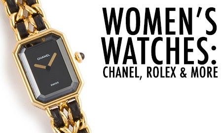 Women's Watches: Chanel, Rolex & More