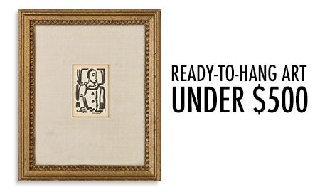 Feature Of The Week: Ready-To-Hang Art Under $500