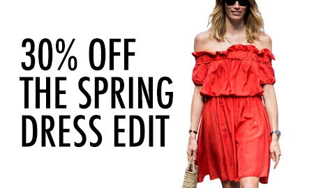 30% Off The Spring Dress Edit