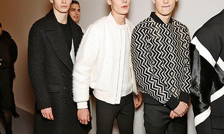 High Contrast: Black & White Menswear