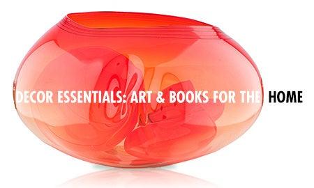 Decor Essentials: Art & Books For The Home