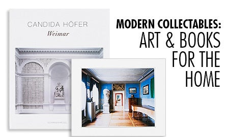 Modern Collectables: Art & Books For The Home