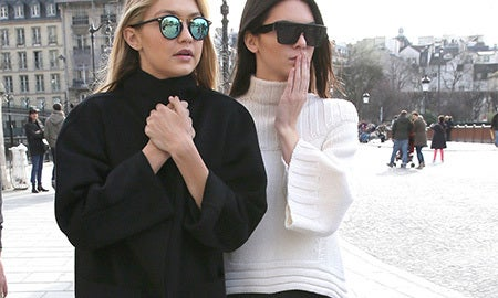 Model Pair: Kendall Jenner + Gigi Hadid