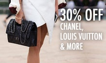 30% Off Chanel, Louis Vuitton & More