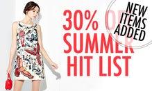 30% Off The Summer Hit List