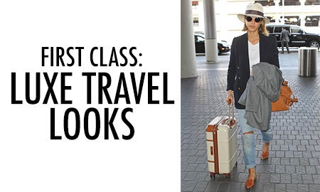 First Class: Luxe Travel Looks