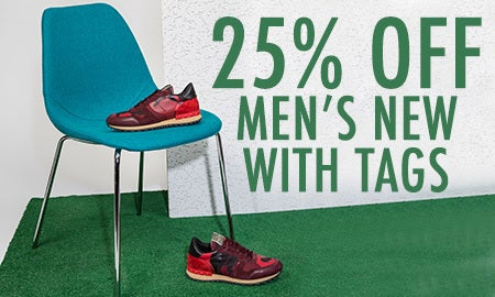 25% Off Men's New With Tags