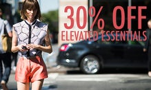30% Off Elevated Essentials