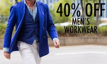 40% Off Men's Workwear