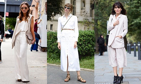 Seen On The Street: Summer Neutrals