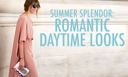 Summer Splendor: Romantic Daytime Looks