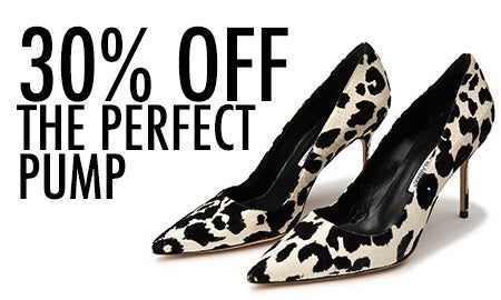 30% Off The Perfect Pump