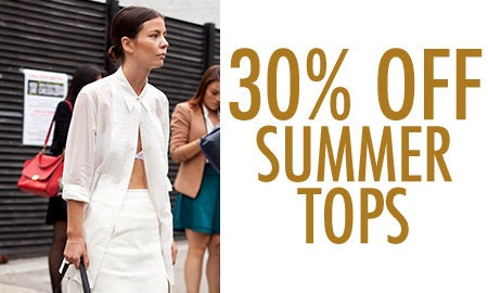 30% Off Summer Tops