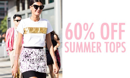 60% Off Summer Tops