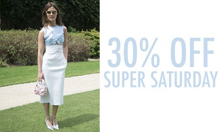 30% Off Super Saturday