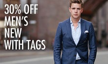 30% Off Men's New With Tags