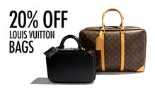 His & Hers: 20% Off Louis Vuitton Bags