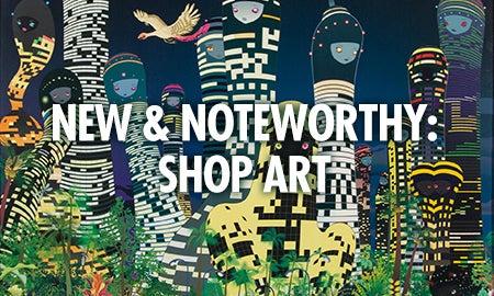 New & Noteworthy: Shop Art