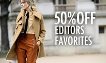 50% Off Editors' Favorites