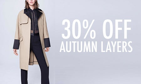 30% Off Autumn Layers