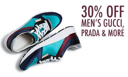 30% Off Men's Gucci, Prada & More