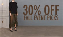 30% Off Fall Event Picks