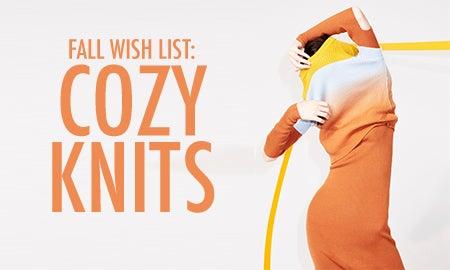 Fall Wish List: Cozy Knits