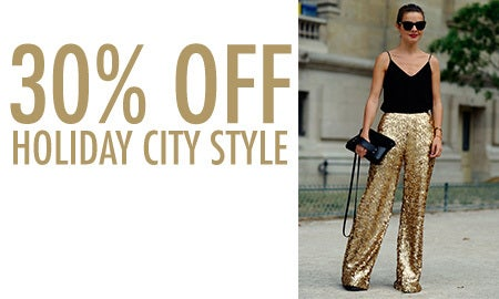30% Off Holiday City Style
