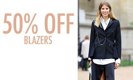 50% Off Blazers