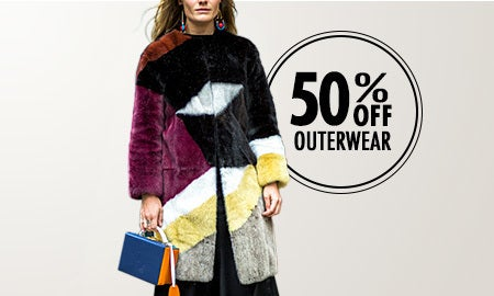 50% Off Outerwear