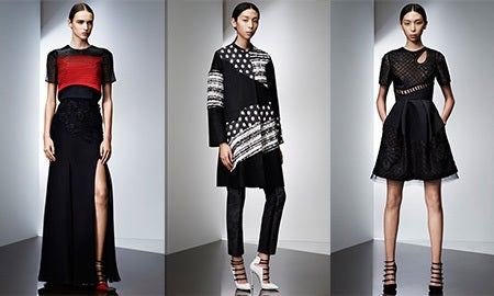 The Holiday Party Edit: Edgy Elegance