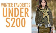 Winter Favorites Under $200