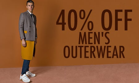 40% Off Men's Outerwear