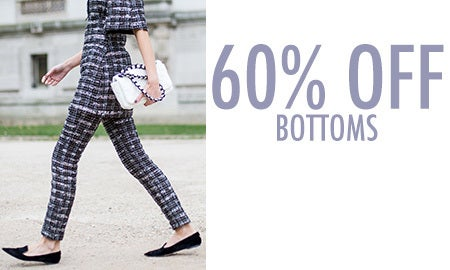 60% Off Bottoms