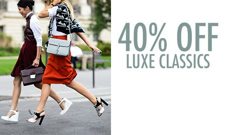 40% Off Luxe Classics
