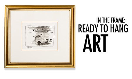 In The Frame: Ready To Hang Art