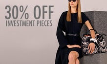 30% Off Investment Pieces