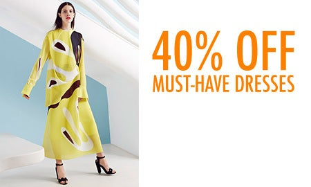 40% Off Must-Have Dresses