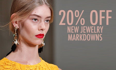 20% Off New Jewelry Markdowns