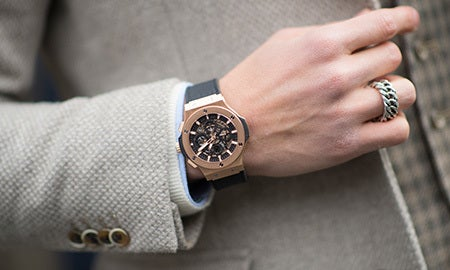 Man Of The Hour: Men's Fine Watches