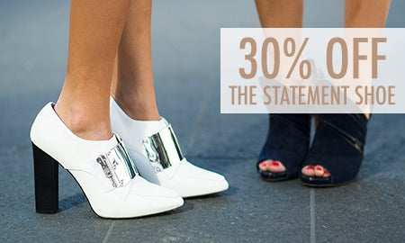 30% Off The Statement Shoe