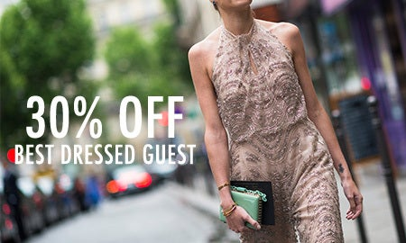 30% Off Best Dressed Guest