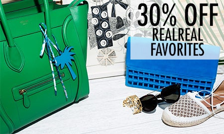 30% Off RealReal Favorites