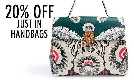 20% Off Just In Handbags