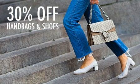 30% Off Perfect Pairings: Handbags & Shoes