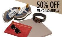 50% Off Men's Essentials