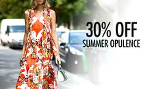 30% Off Summer Oppulence